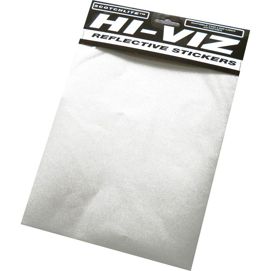 Hump Hi-Viz Ultra check sticker sheet Orange/Silver