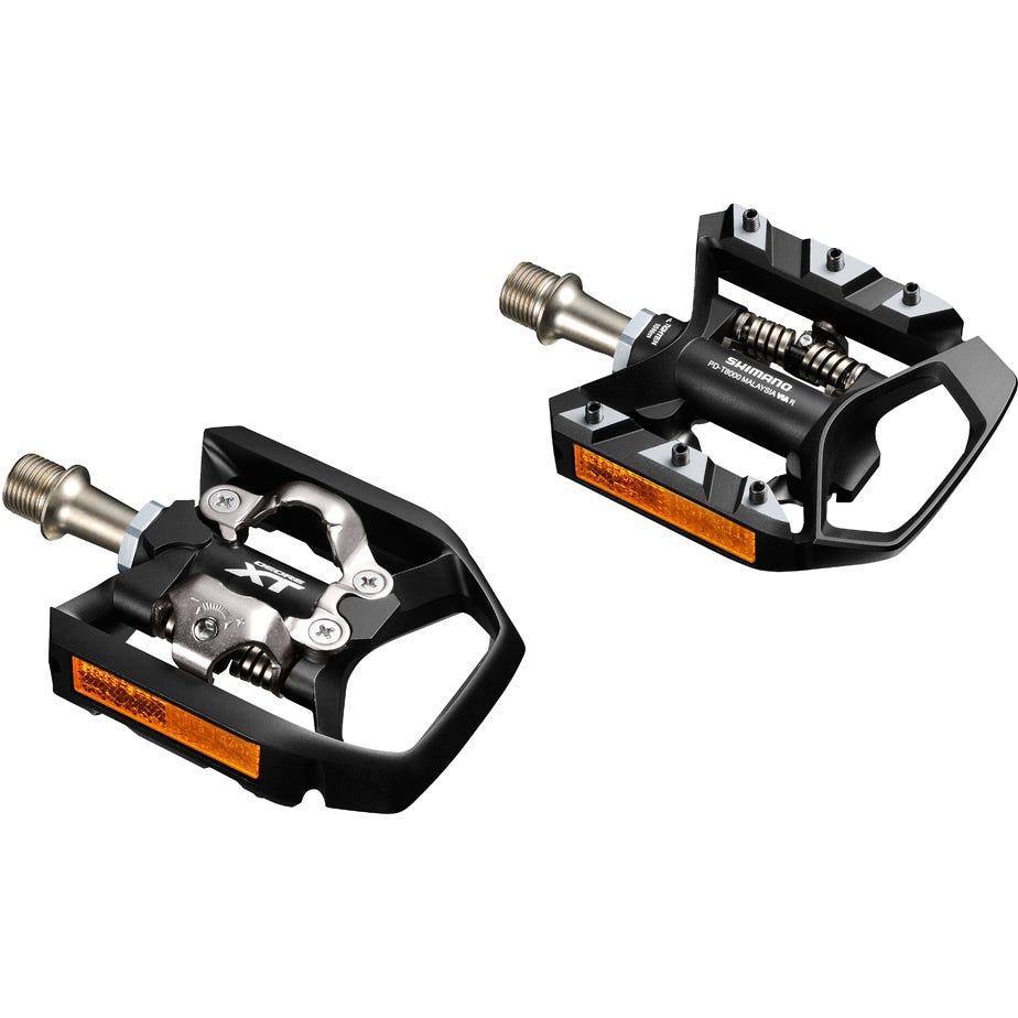 Shimano Pedals PD-T8000 XT MTB SPD Trekking pedals, single-sided mechanism
