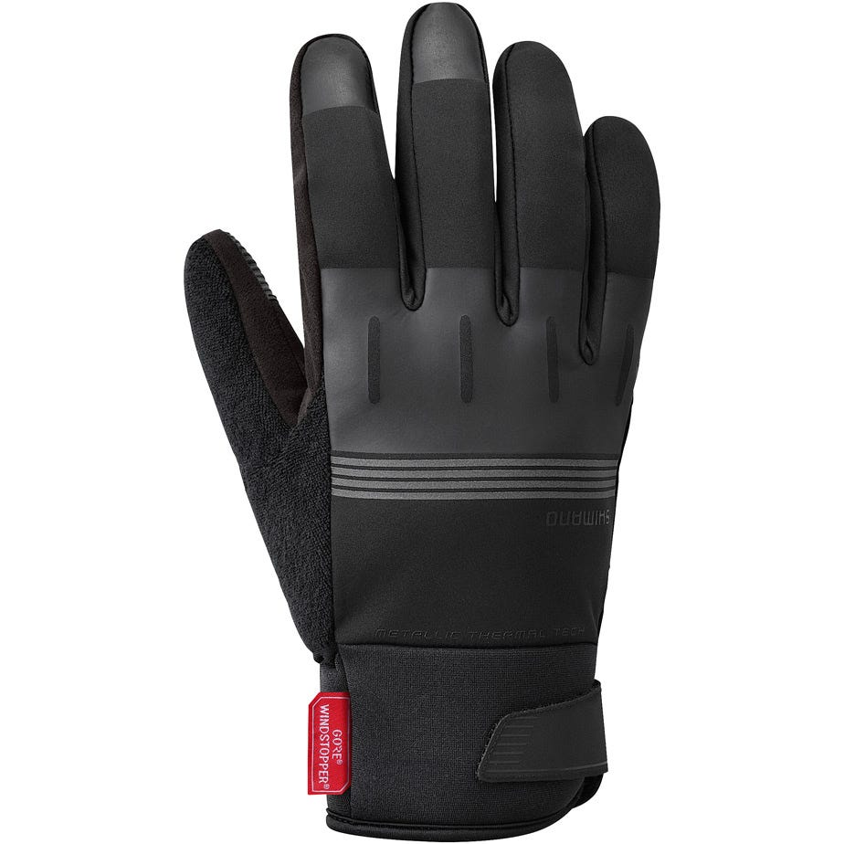 Shimano Clothing Men's Windstopper® Thermal Reflective Gloves