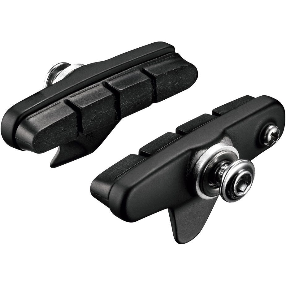 Shimano Spares BR-5800 R55C4 Cartridge type brake shoe set, Pair, Black