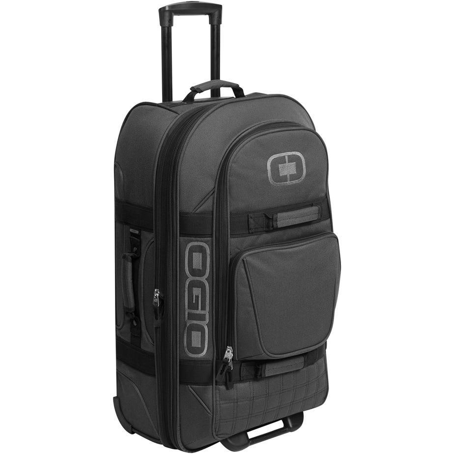 OGIO Terminal Wheeled Travel Bag - Black Pindot