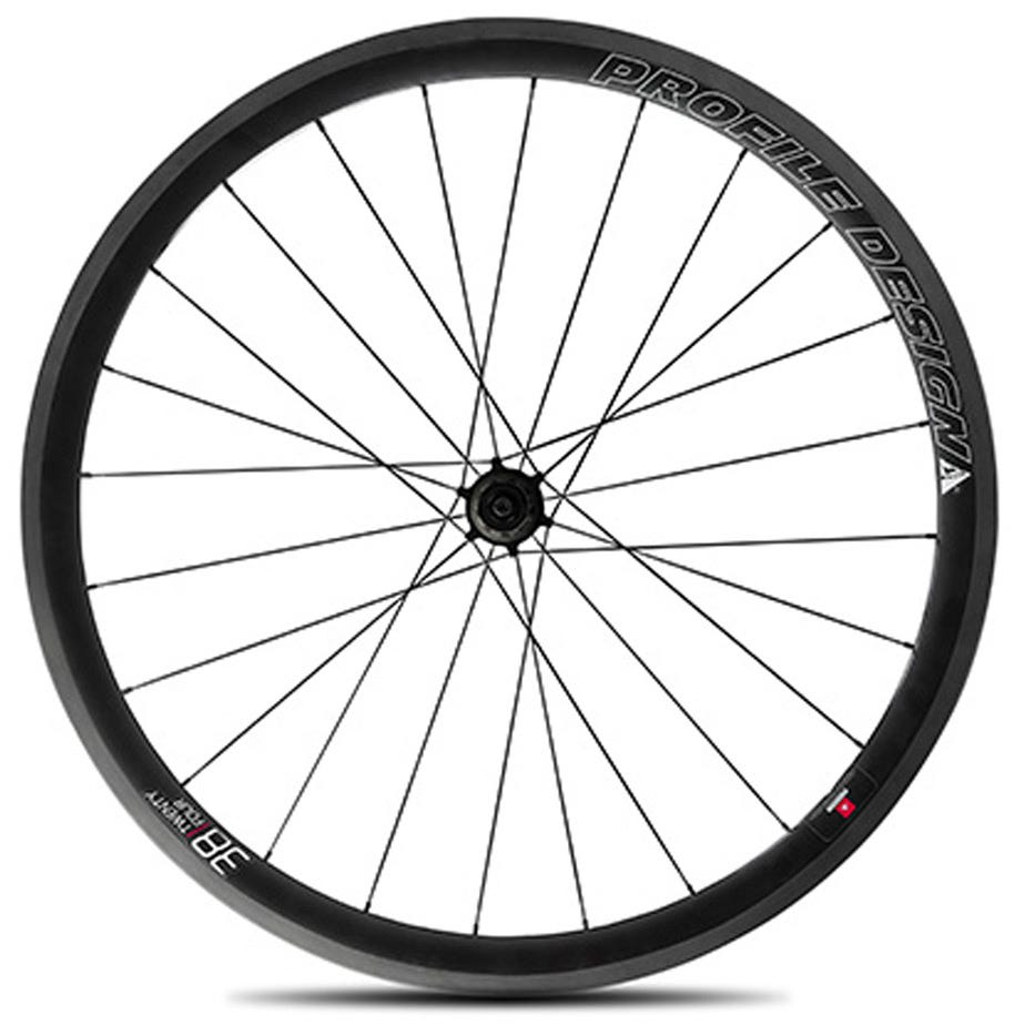 Profile Design 38 Twenty Four Full Carbon Clincher Wheel - Rear