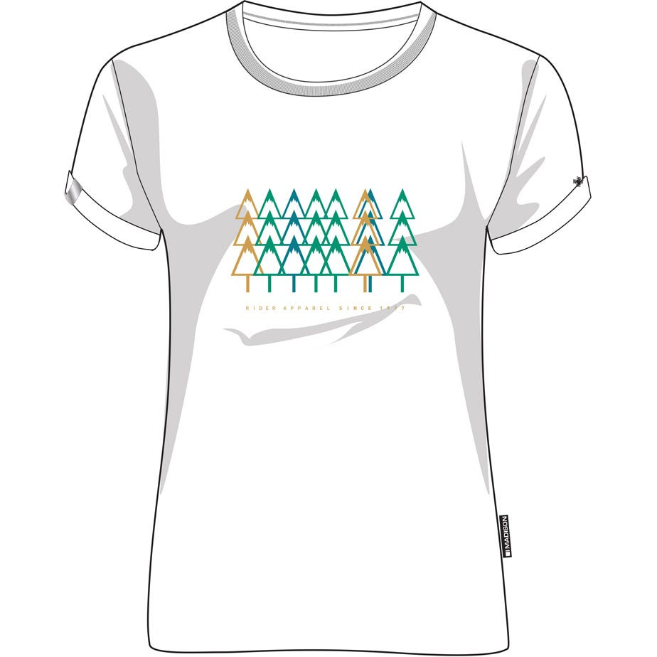 Madison Tech Tee women's, forest trail