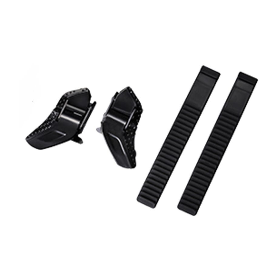 Shimano Spares Low profile buckle and strap set, black