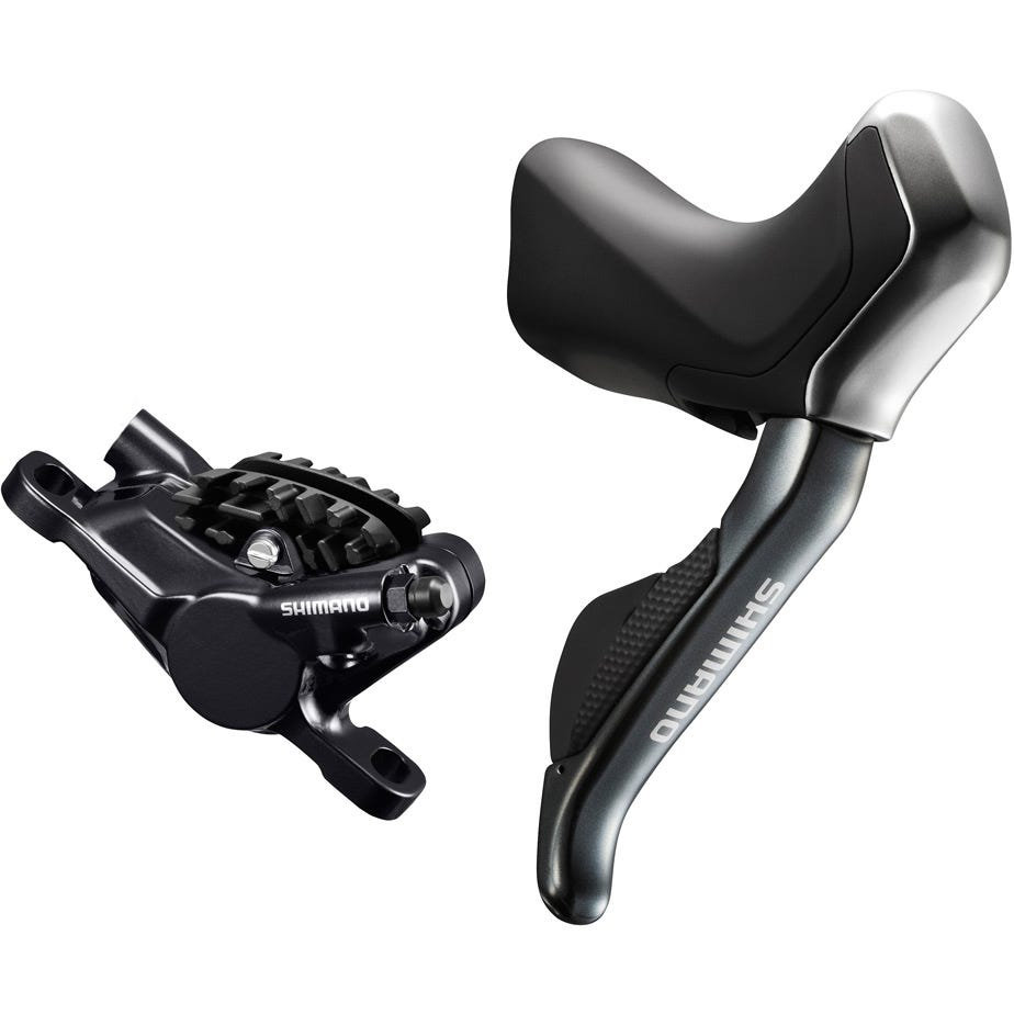 Shimano Non-Series Di2 ST-R785 hydraulic disc brake Di2 E-tube STI set, with RS785 callipers, pair