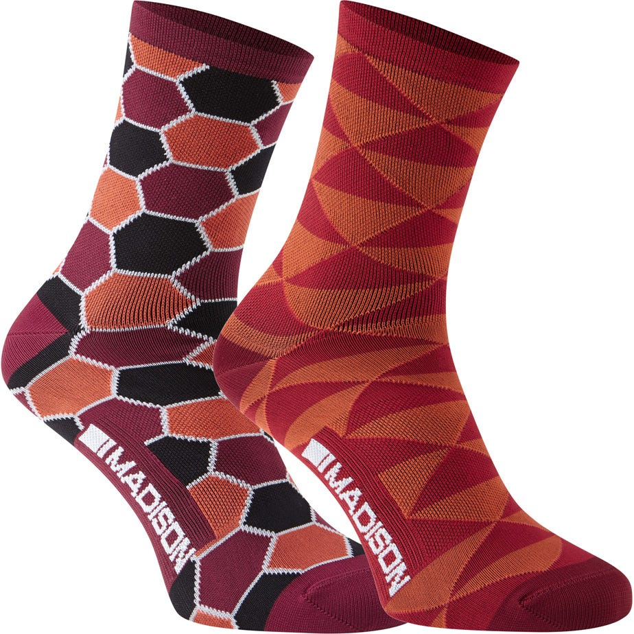 Madison Sportive Race women's long sock twin pack