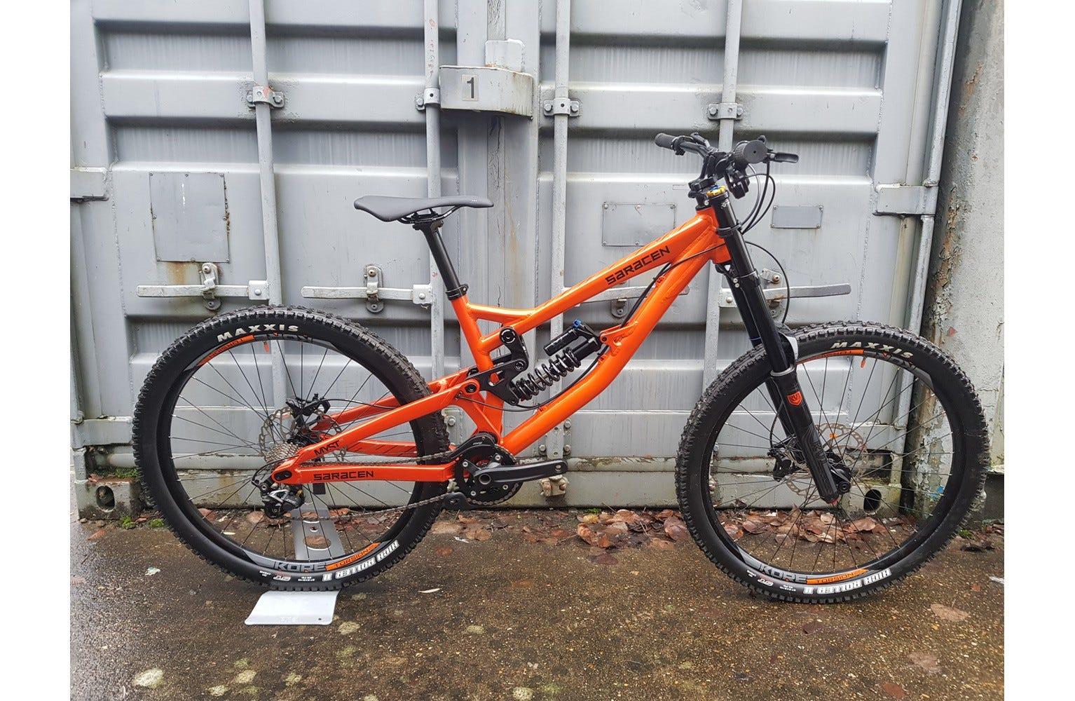 Saracen Myst Medium Ex Brand Sample Bike