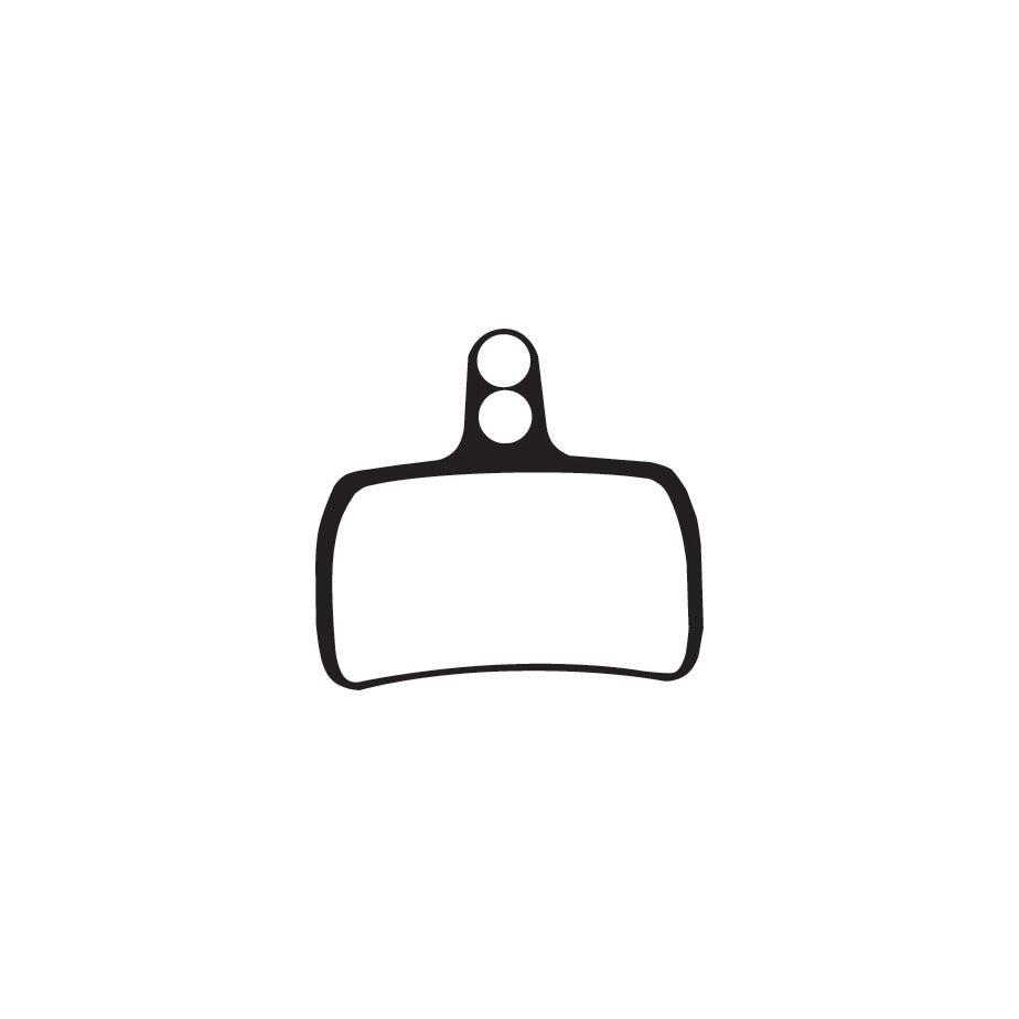 Aztec Organic disc brake pads for Hope Mono Mini callipers