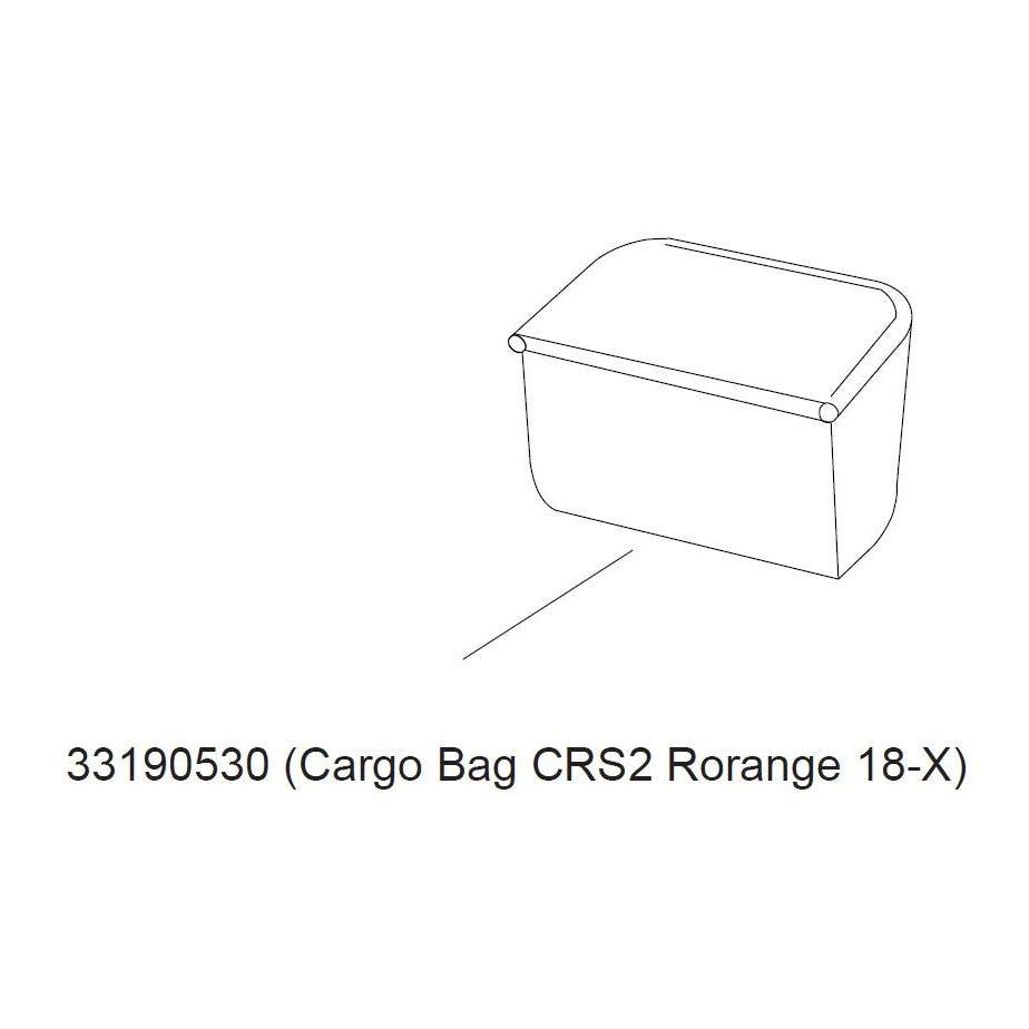 Thule Cross 2 cargo bag 2017- orange