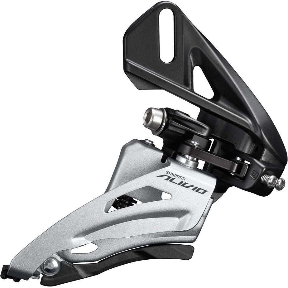Shimano Alivio FD-M4020 Alivio double front derailleur, direct fit side swing, chainline 48.8mm