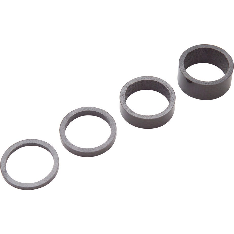 PRO Headset spacers, 3K carbon, 3/ 5/ 10/ 15mm, 1-1/8 inch