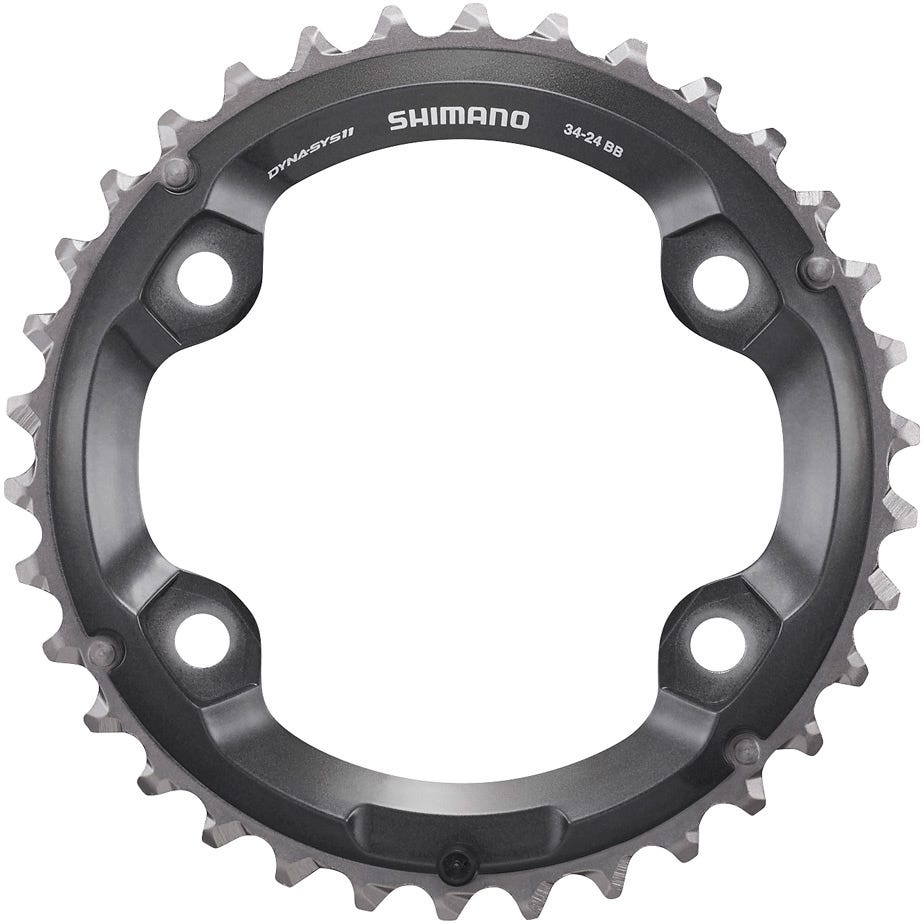 Shimano Spares FC-M8000 chainring 36T-BC for 36-26T