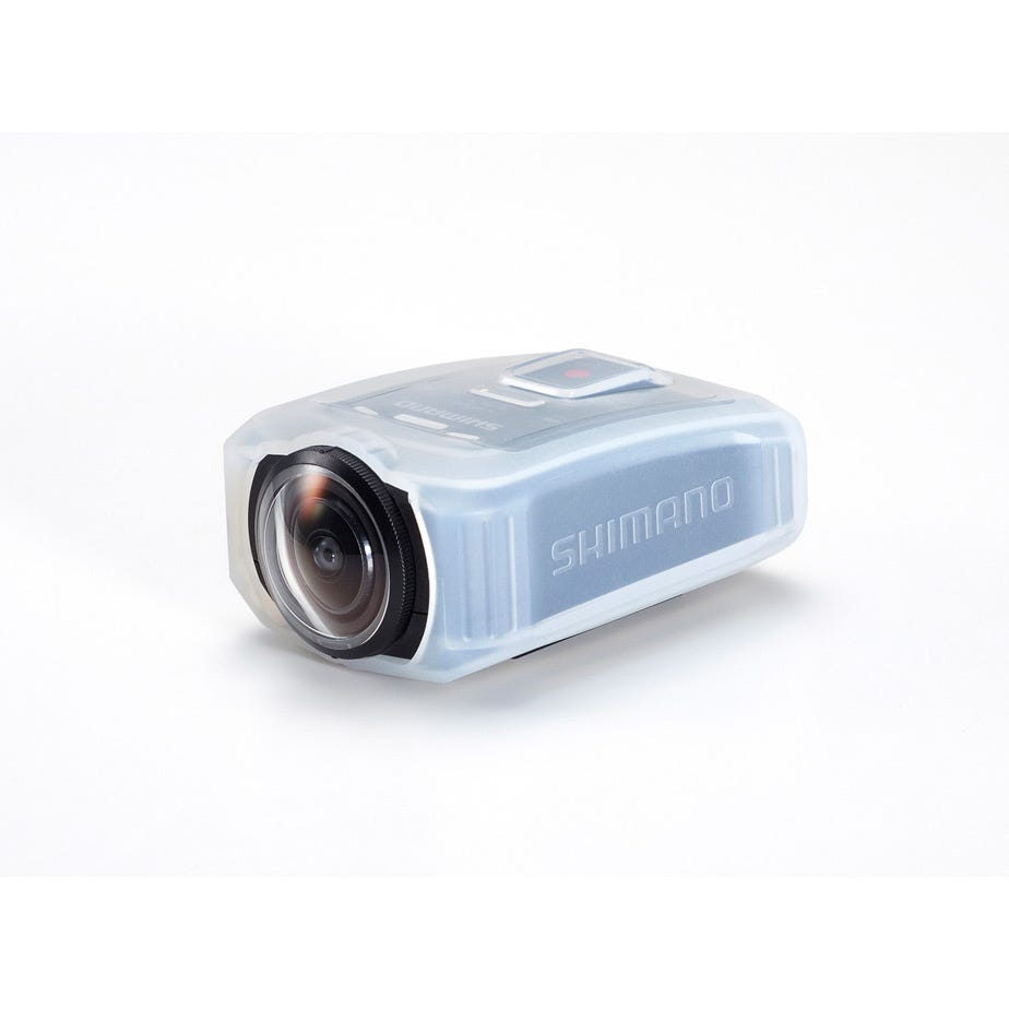 Shimano CM-JK01 silicone jacket for CM-1000  sport camera, clear white