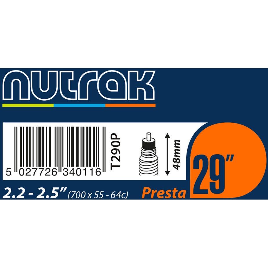 Nutrak 29 X 2.2 - 2.5 inch Presta inner tube