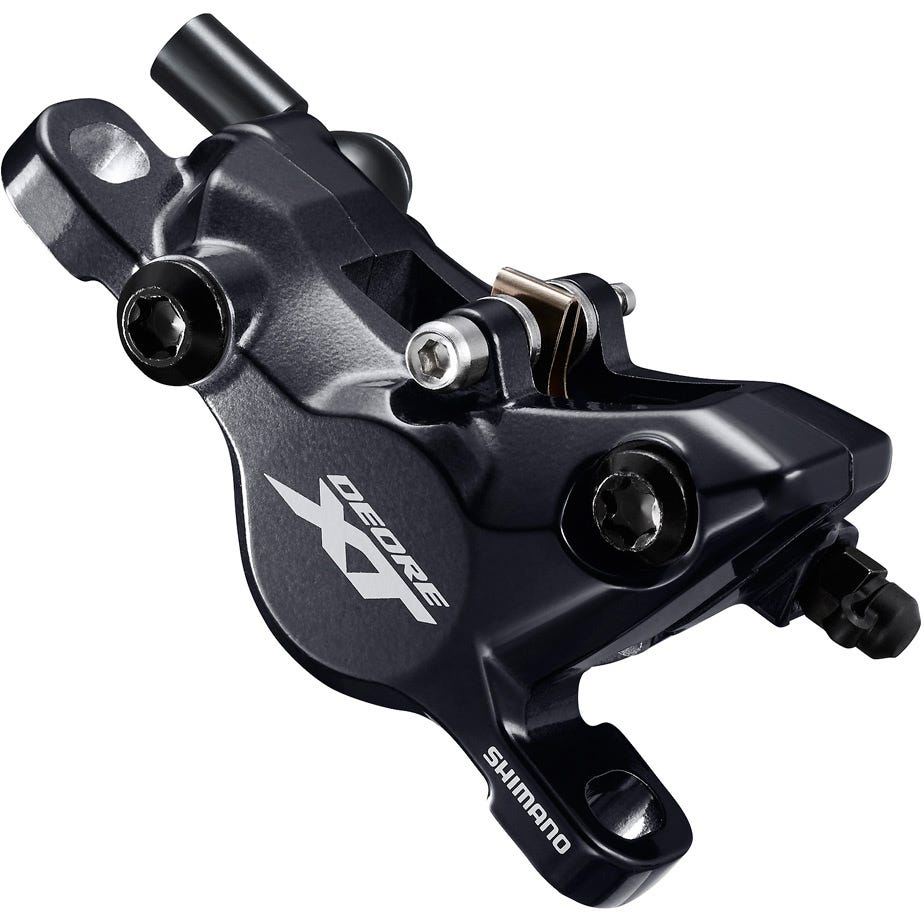 Shimano Deore XT BR-M8100 XT 2-piston calliper, post mount, without adapters, front or rear
