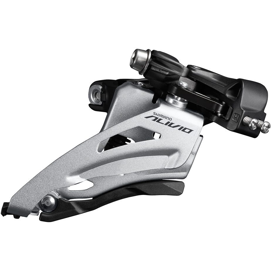 Shimano Alivio FD-M4020 Alivio double front derailleur, mid clamp, side swing, chainline 48.8mm