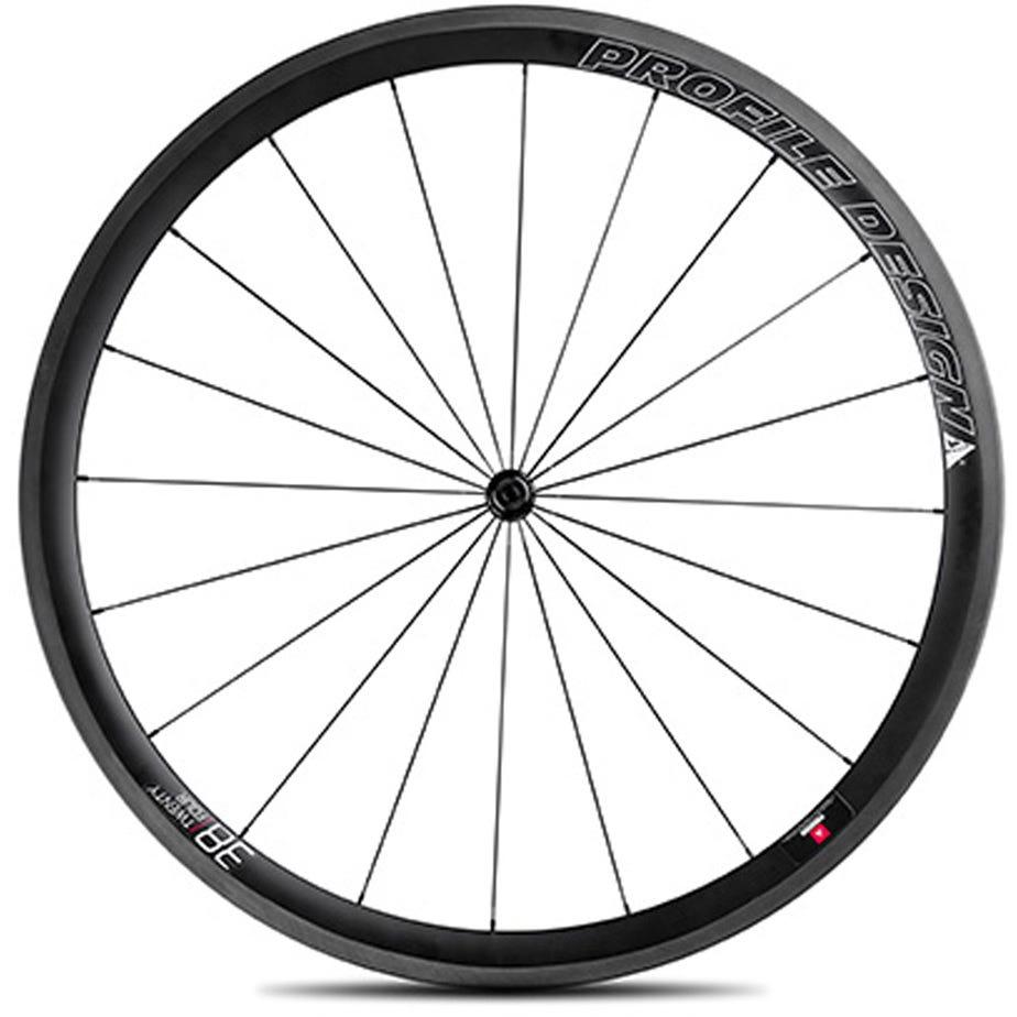 Profile Design 38 Twenty Four Full Carbon Clincher Wheel - Front