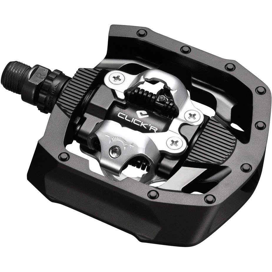 Shimano Pedals PD-MT50 CLICK'R pedal, Pop-up mechanism, black