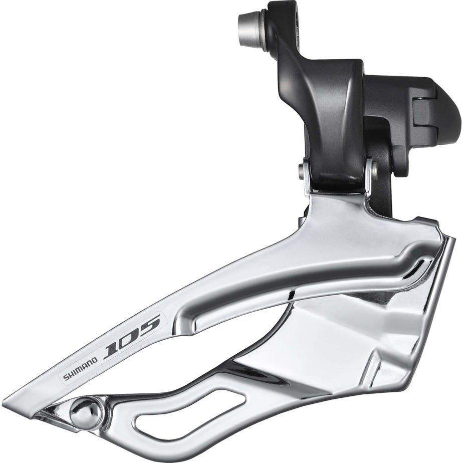 Shimano 105 FD-5700 and FD-5703 105 10-speed front derailleur