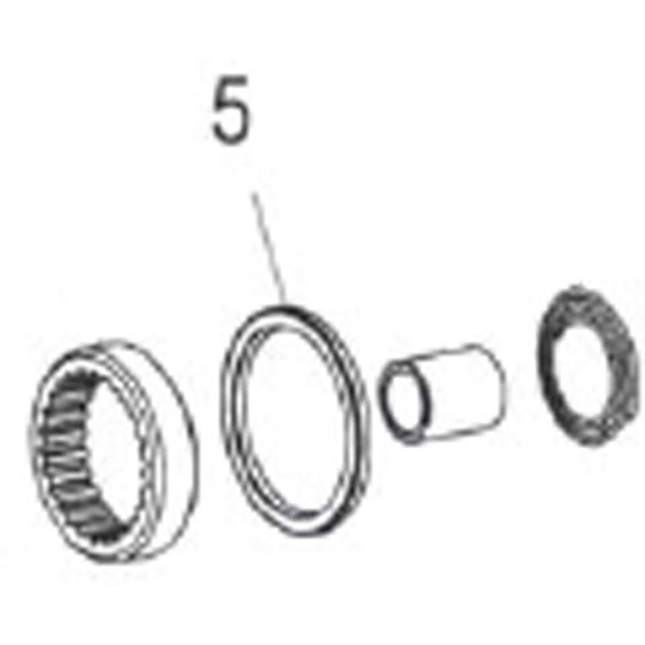 DT Swiss Seal for Ratchet Freehub body and hub shell, fits 240 and 350