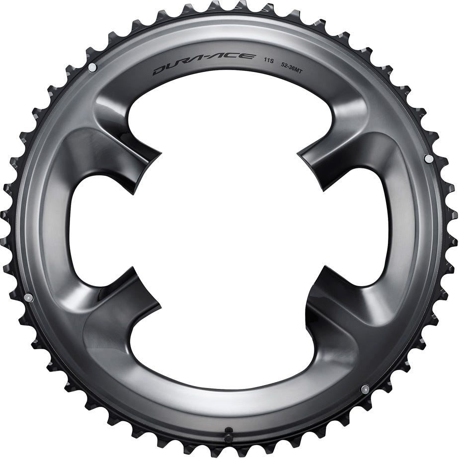 Shimano Spares FC-R9100 Chainring 52T-MT for 52-36T