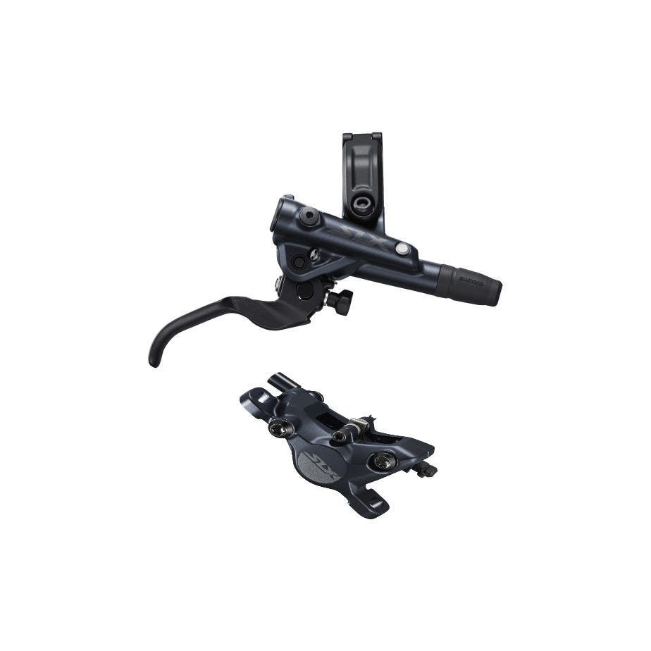 Shimano SLX BR-M7100/BL-M7100 SLX bled brake lever/post mount calliper, front right