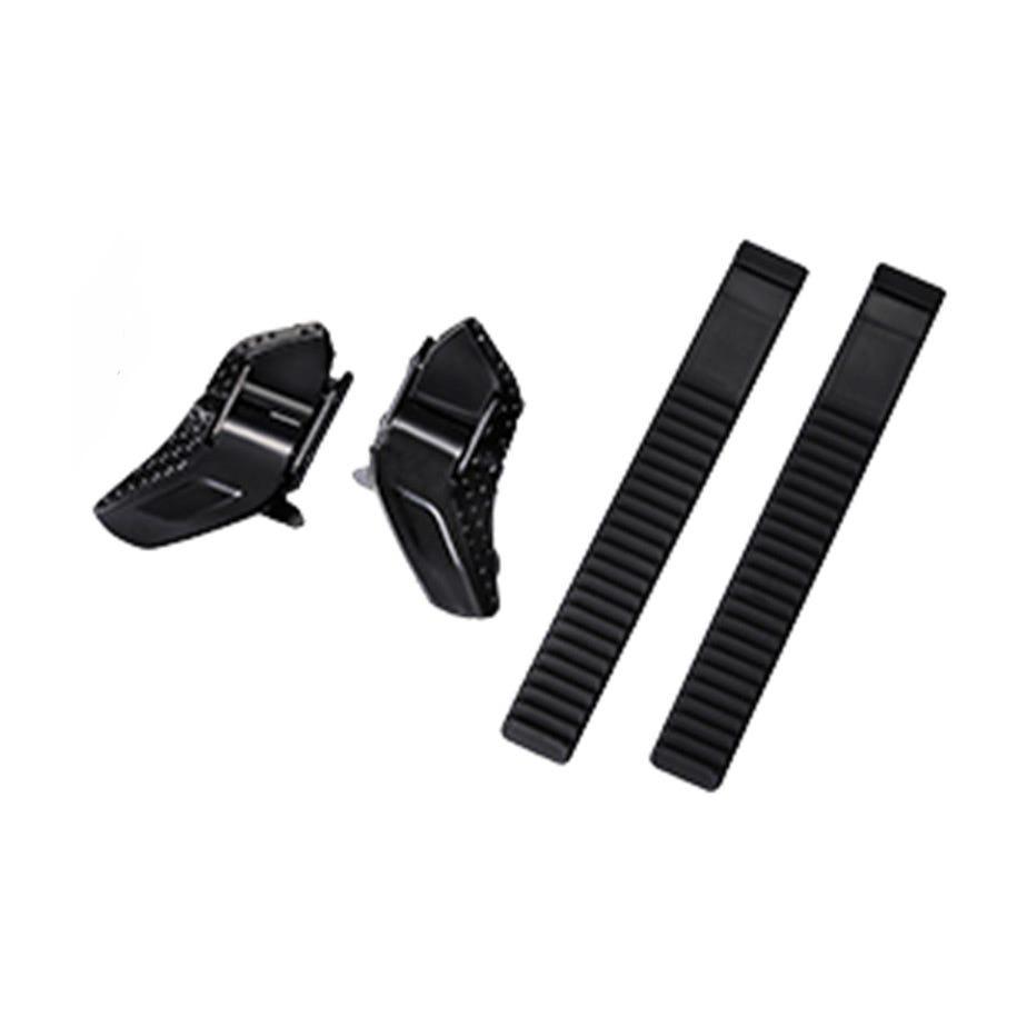 Shimano Spares Buckle & Strap, Low Profile, Black