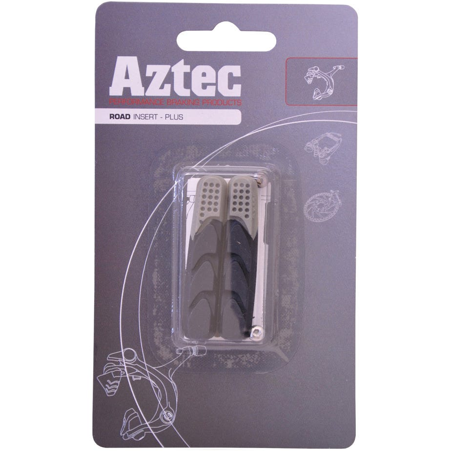 Aztec Road insert brake blocks Plus