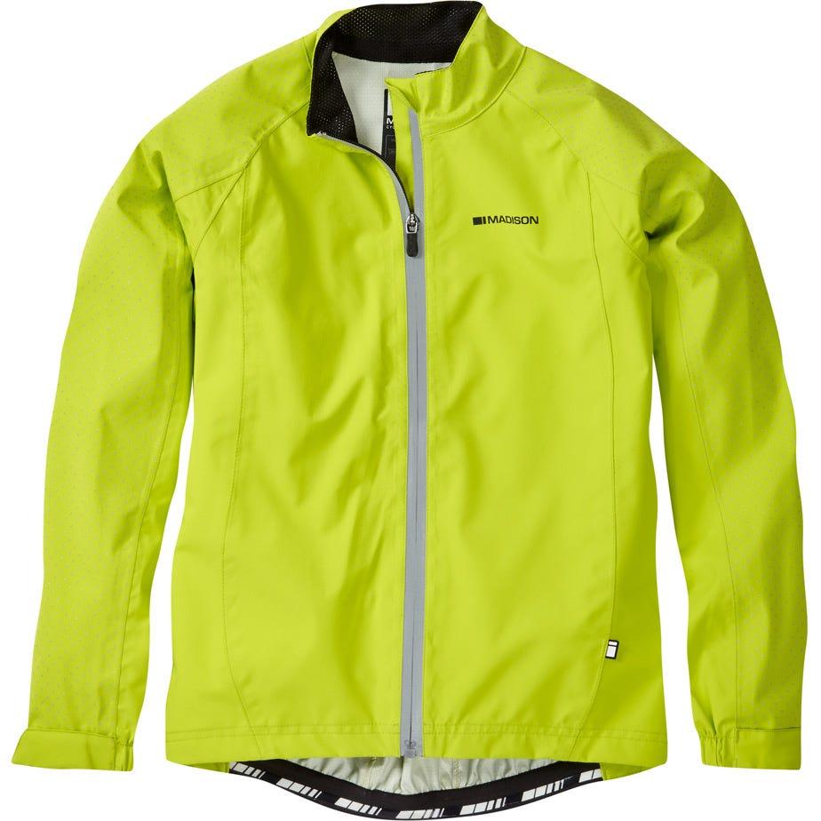 Madison Sportive Hi-Viz youth waterproof jacket