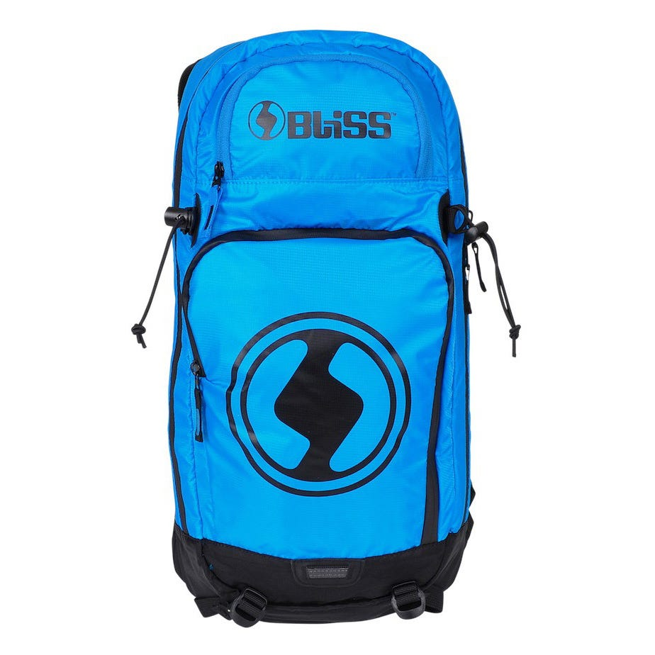 Bliss Protection Vertical LD 12 Backpack Back Protector - Blue