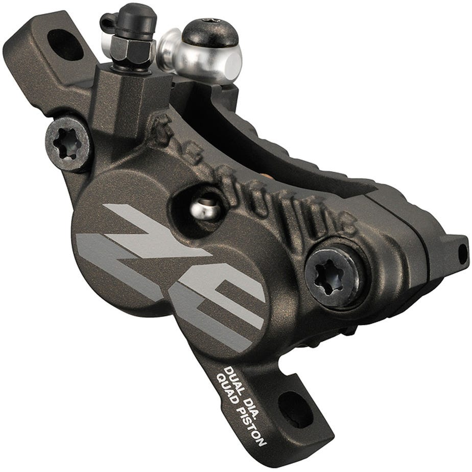 Shimano ZEE BR-M640 ZEE 4-piston calliper, post mount, for front or rear