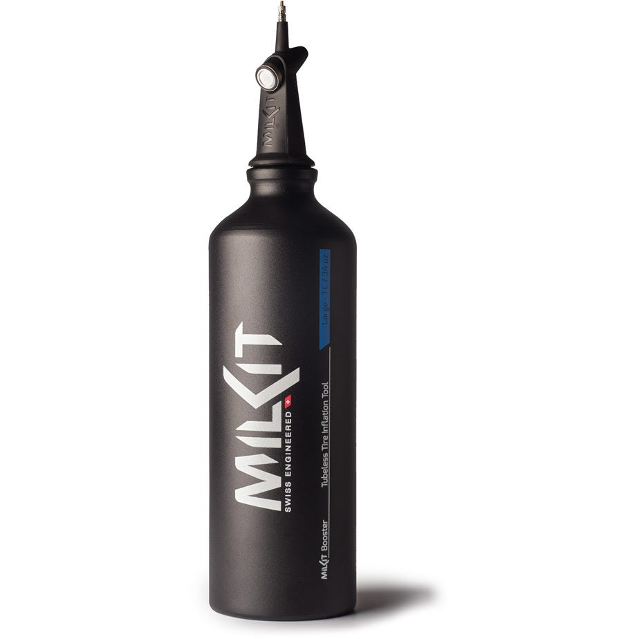 milKit Booster head with 1 litre bottle