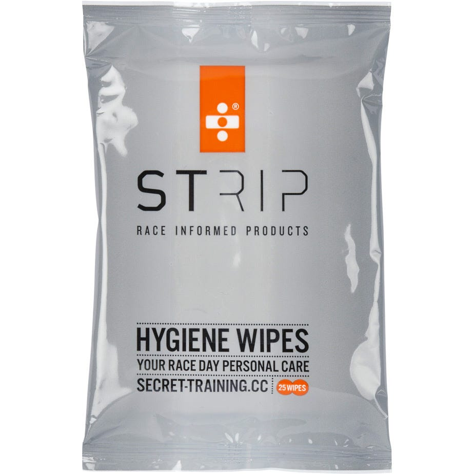 Strip Hygiene Wipes - Pack of 25 x 14