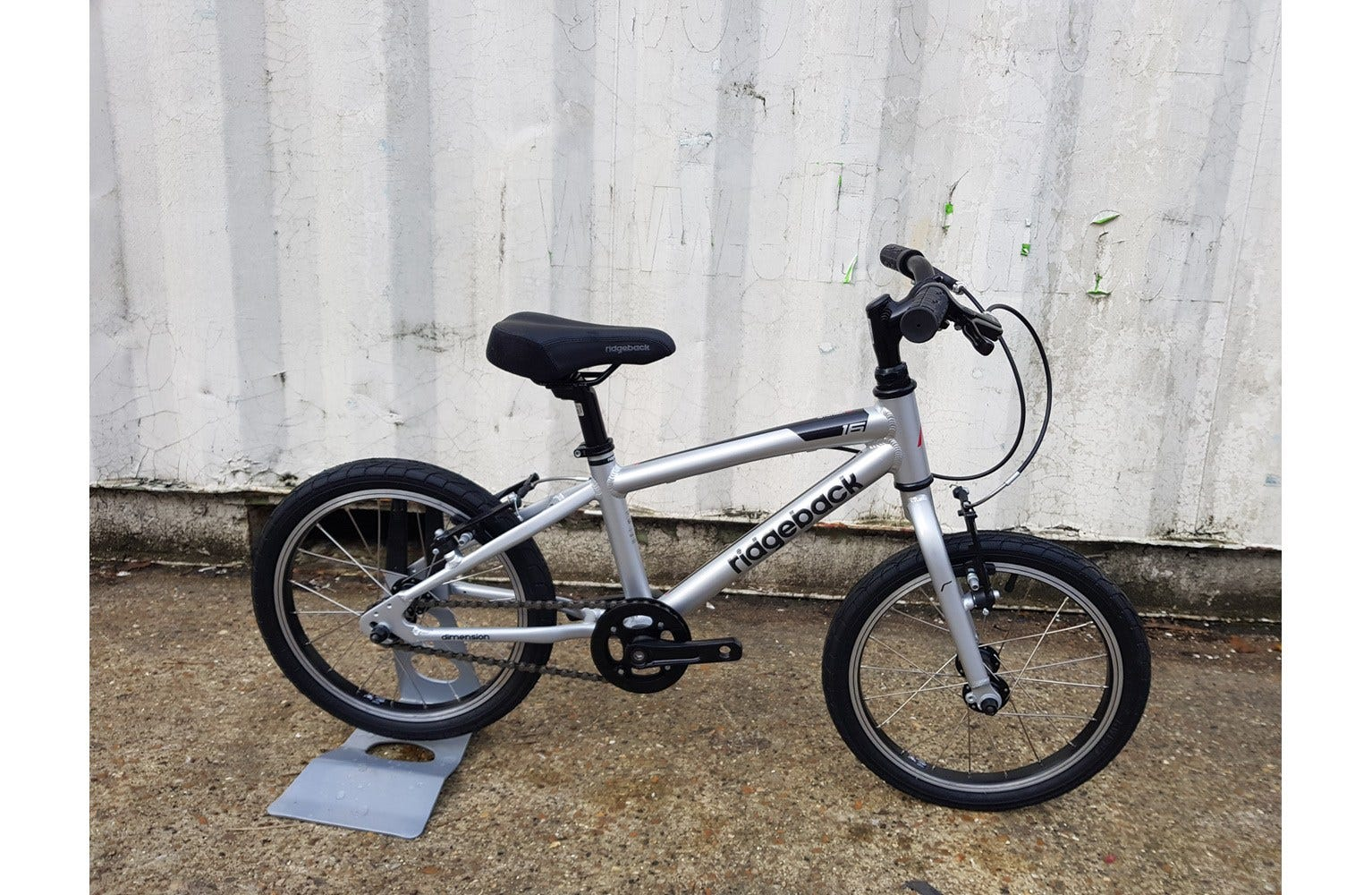 Ridgeback Dimension 16 inch Ex Brand Sample Bike - Silver
