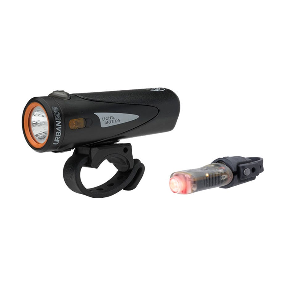 Light and Motion Urban 500 Onyx + Vya 50 light twinpack