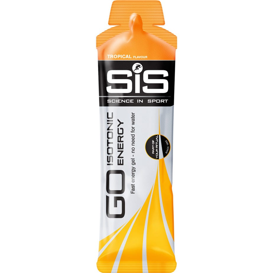 Science In Sport GO Isotonic Gel tropical 60 ml tube - box of 30