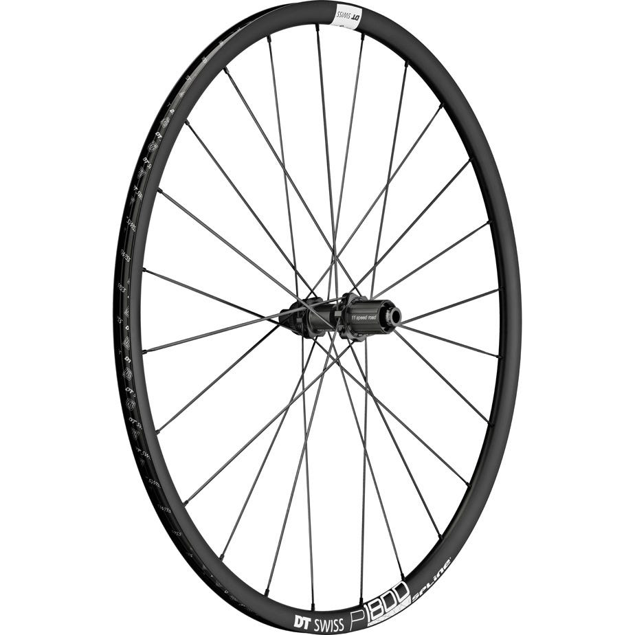 DT Swiss P 1800 MY19 SPLINE disc brake wheel, clincher 23 x 18 mm, rear