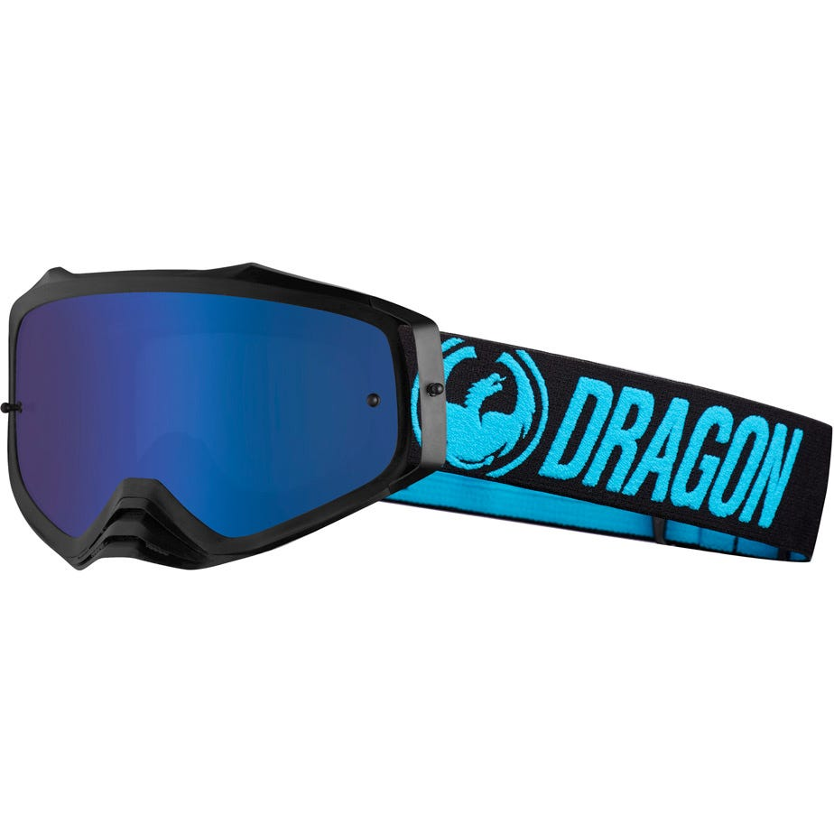 Dragon Goggles MXV PLUS Blue / Blue Ion