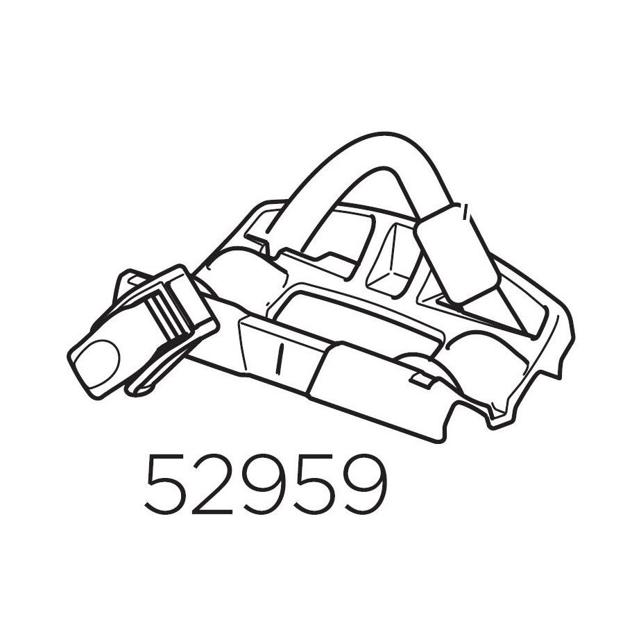 Thule 52959 Rear wheel holder for 598