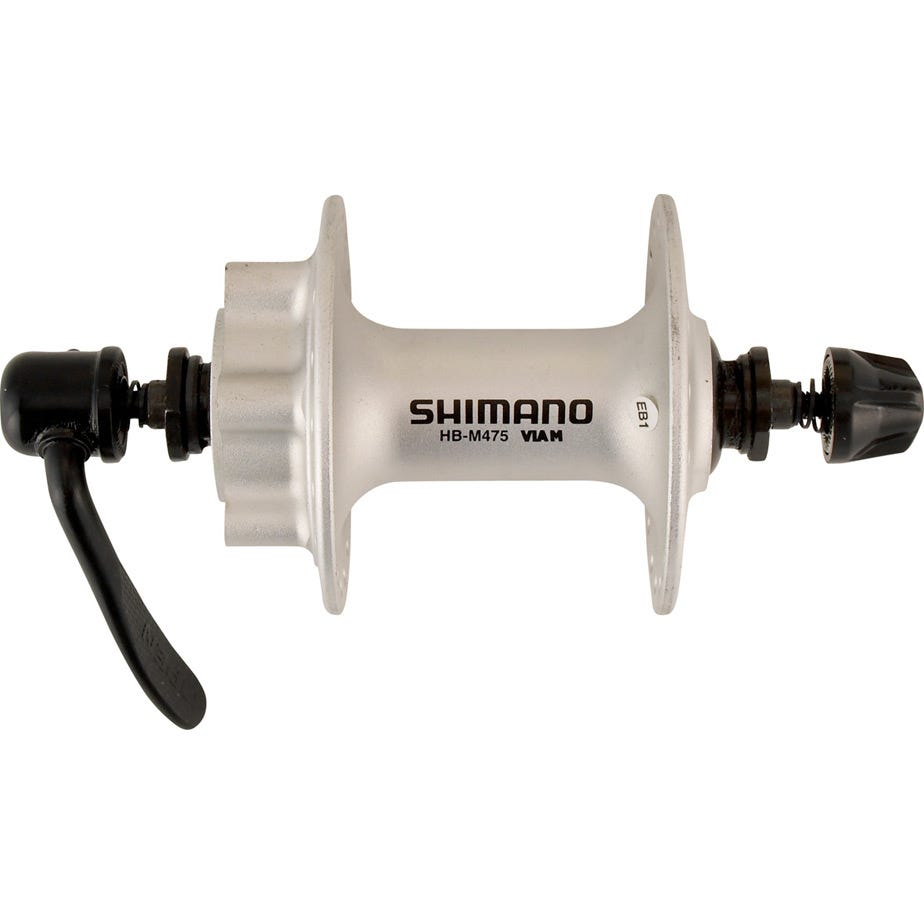 Shimano Deore HB-M475 disc front hub 6-bolt silver