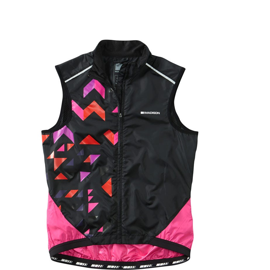Madison Sportive women's windproof shell gilet