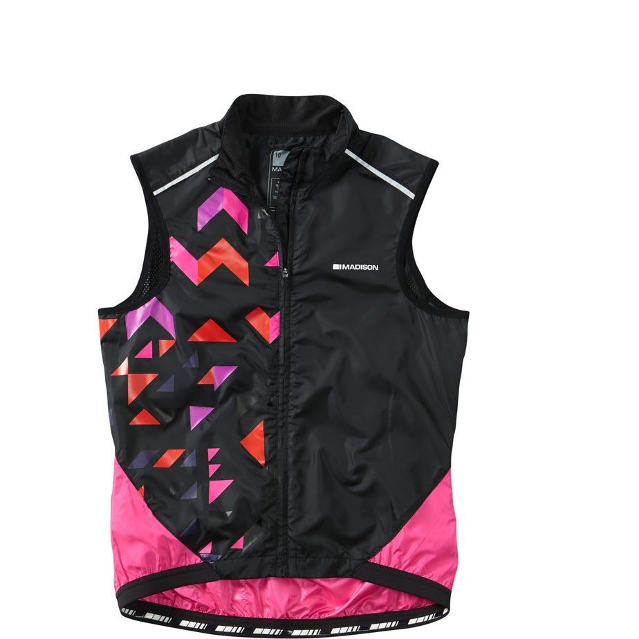 Madison Sportive women's windproof shell gilet