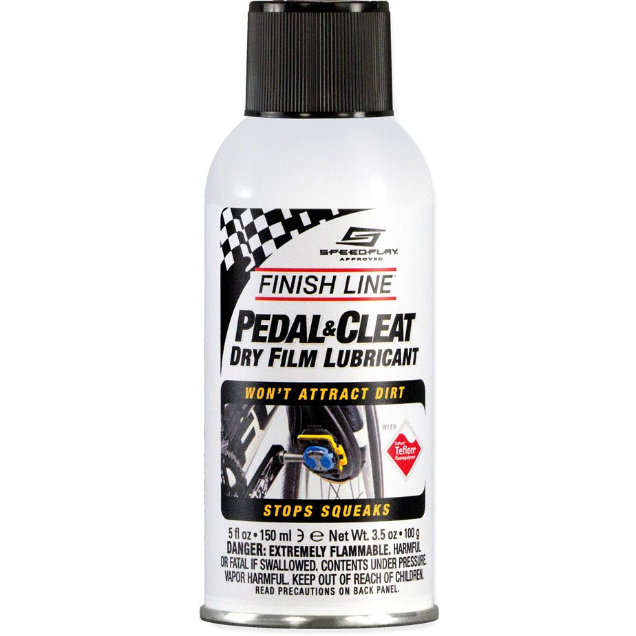 Finish Line Pedal & Cleat Lube, 5 oz aerosol (160 ml)