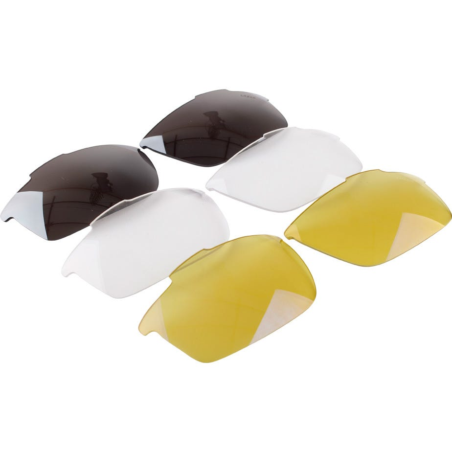 Lazer M1-S silver mirror lens for use with metal nose piecekit