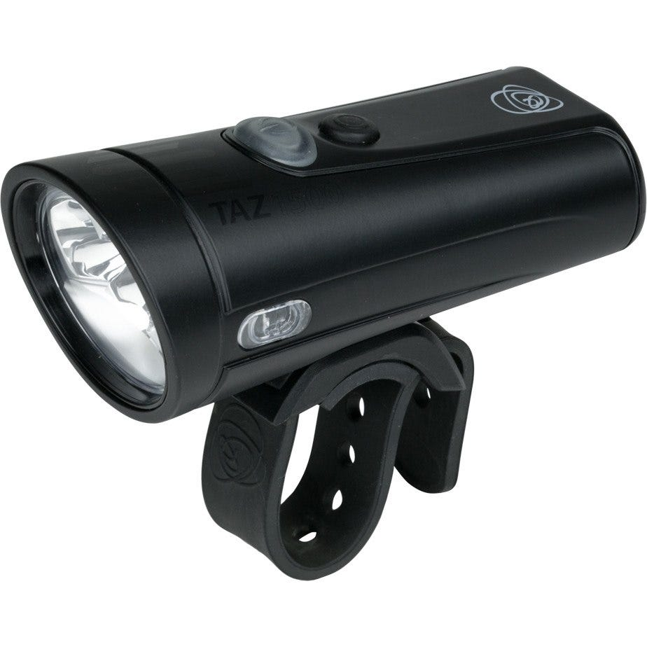 Light and Motion Taz 1500 - Black Pearl (Black/Black) light system