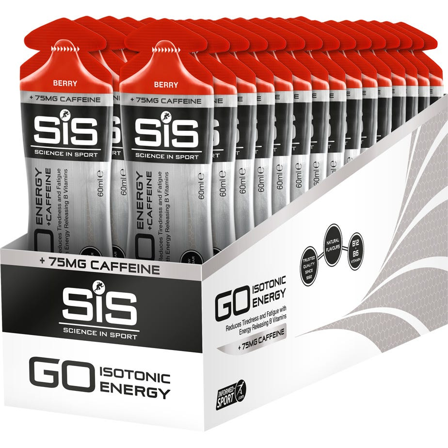 Science In Sport GO Caffeine Energy Gel