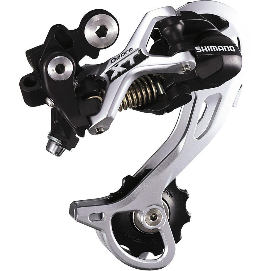 Shimano Deore XT RD-M772 XT Shadow design rear derailleur - top normal
