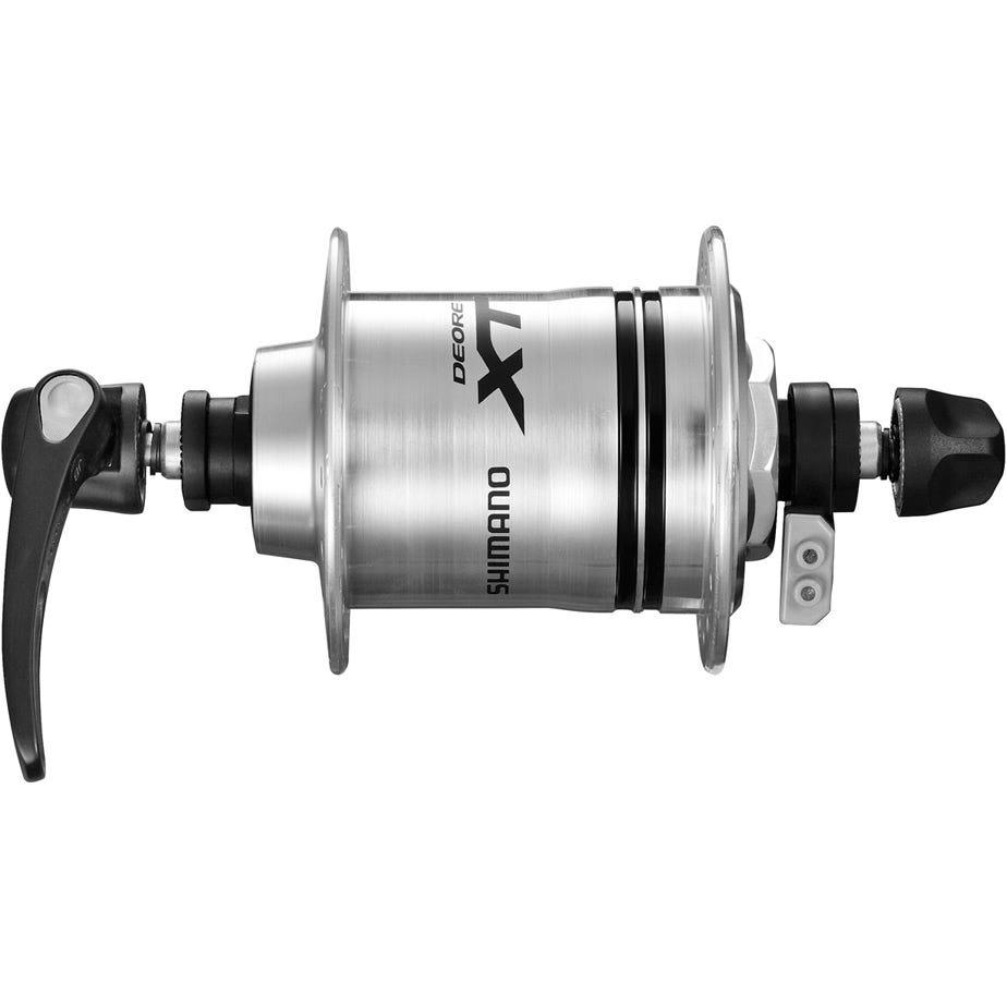 Shimano Deore XT DH-T780-1N Deore XT, 6v 1.5w, for rim brake, silver, 32h, Q/R