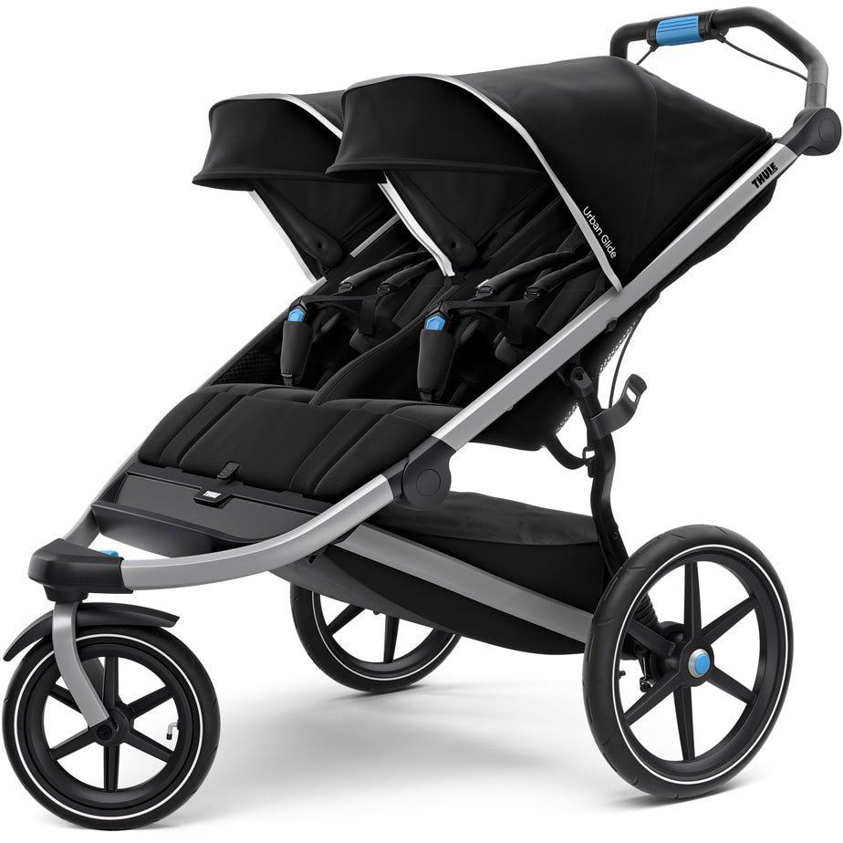 Thule Urban Glide 2 double sports stroller - black
