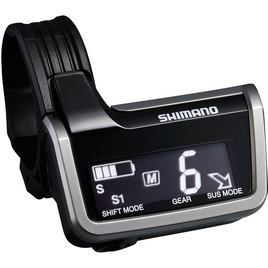 Shimano XTR SC-M9051 Di2 system information and display junction A, 3x E-tube ports